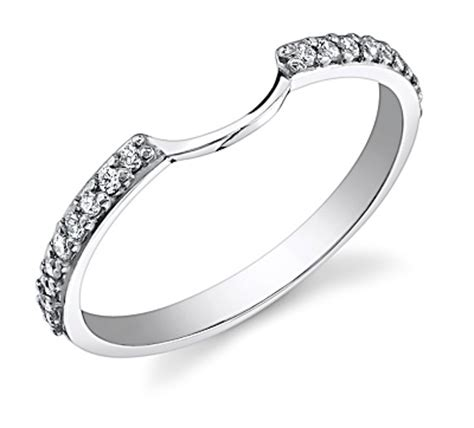 matching wedding band for halo engagement ring