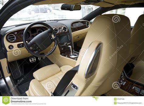 luxury car interior royalty free stock photo image 21527535