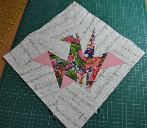 Origami Crane Quilt Pattern - origami crane pattern and tutorial the itinerant chemist