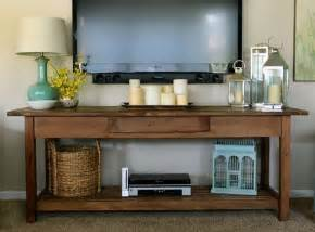 Tv Console Table Wall Mounted Tv Console Wall Mounted Tv With Console Table Underneath I Really Like How They