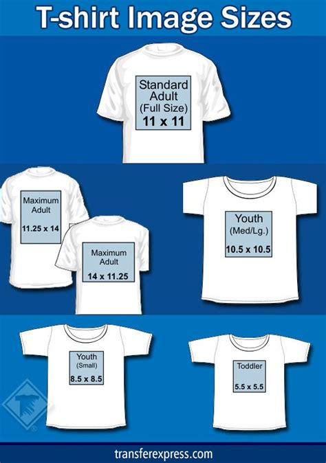 T Shirt Layout Size | 17 best images about transfer size placement on
