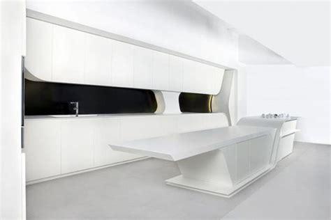 futuristic kitchen striking futuristic kitchen by a cero digsdigs