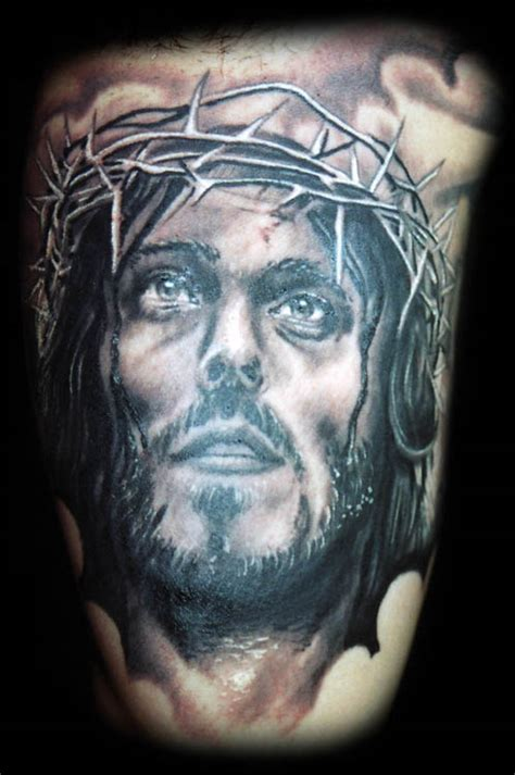 tattoo jesus missouri motoimpact christ tattoo