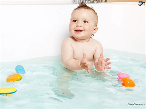 baby in a bathtub baby wallpaper 118