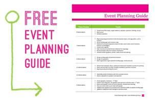 Event Planning Project Template   Calendar Template 2016
