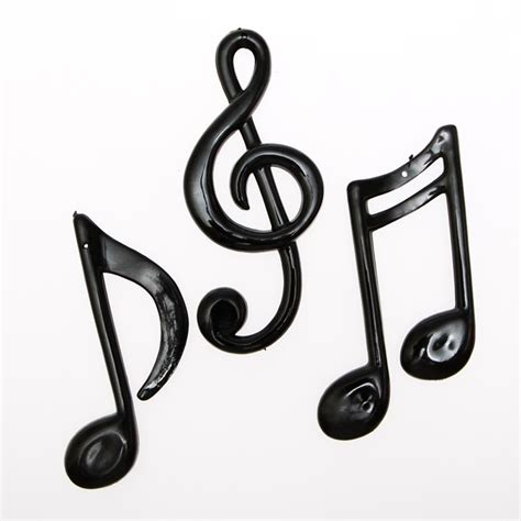 Nautical Decorations For The Home Small Plastic Music Notes
