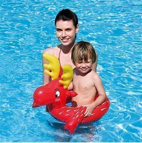 Bestway Lil Animal Pool Float bestway animal swim ring swimming pool childrens float lilo aid reindeer