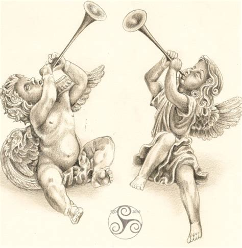cherubs tattoo designs 26 best images about tattoos cherubs on