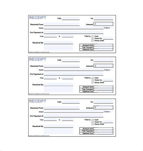 receipt template paid 17 invoice receipt templates doc excel pdf free