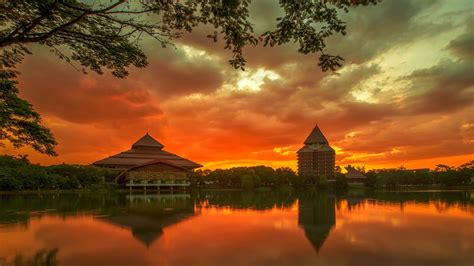 university  indonesia full hd wallpaper  background