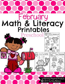 february themes in kindergarten preschool worksheets february by planning playtime