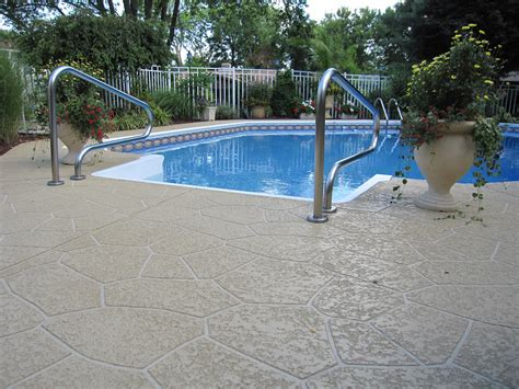 pool deck ideas st louis mo decorative concrete resurfacing