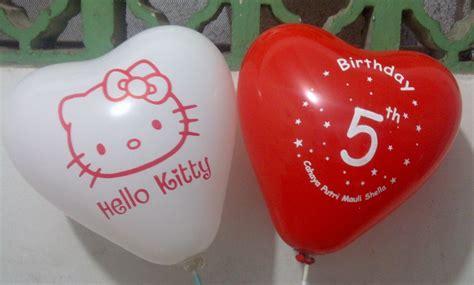 Balon Sablon Sesuai Keinginan Ulang Tahun Anak balon sablon balon print dan cetak balon