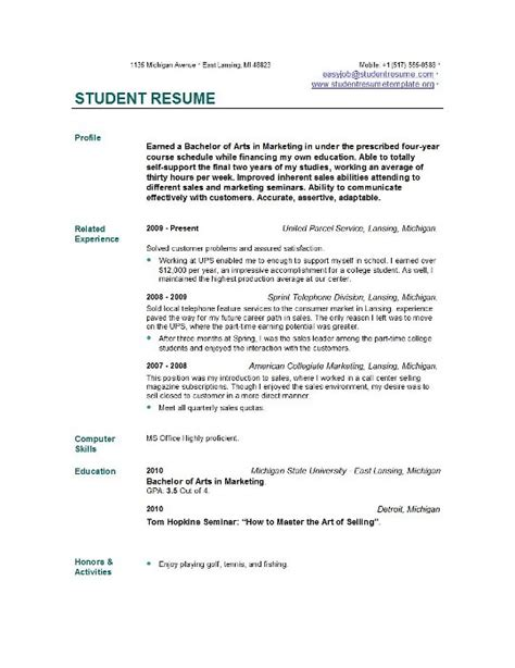 resume for it graduate best resume collection