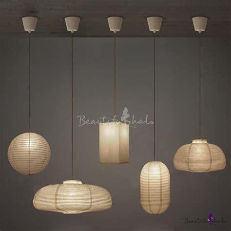 Exclusive Paper Mini Pendant Light In White By Designer Paper Pendant Light