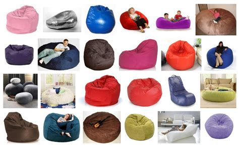 Types Of Bean Bag Chairs by Bean Bags Information Different Purpose And Types Of Beanbags