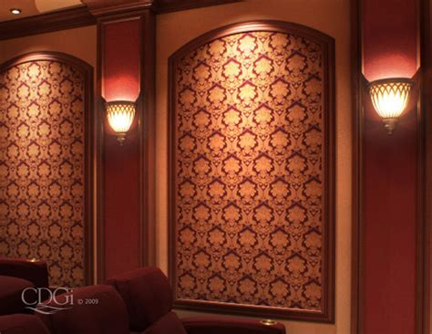 theater curtains and molding without the ornate capitals