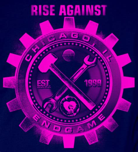 Logo Rise Against rise against logo on