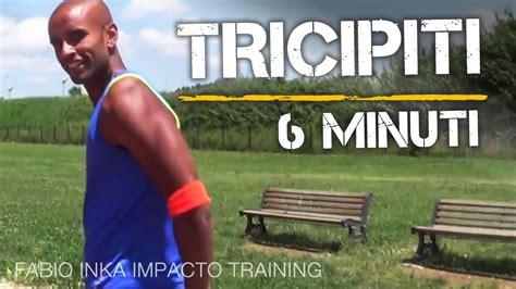 allenamento tricipiti a casa tricipiti a casa in 6 minuti allenamento corpo libero