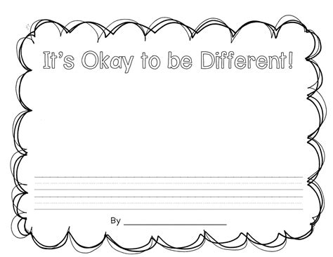 it s okay to be different character unit teacher idea