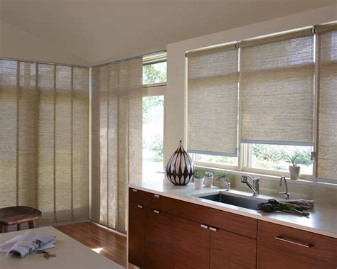 Kitchen Window Blinds by Roller Shades Tx Window Treatments