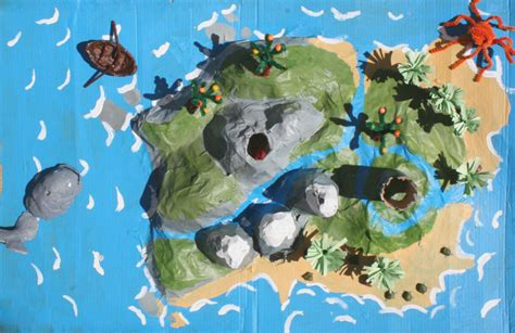 How To Make A Paper Mache Island - papier mache made by toya