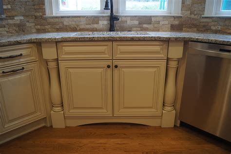 Kitchen Cabinet Finishing Ccff Kitchen Cabinet Finishes Traditional Kitchen Atlanta By Creative Cabinets And Faux