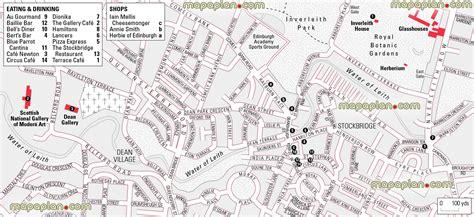 map of edinburgh scotland maps update 7001103 tourist attractions map in scotland
