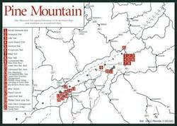 pine mountain map appalachian spas spa travel venture guide resort spa