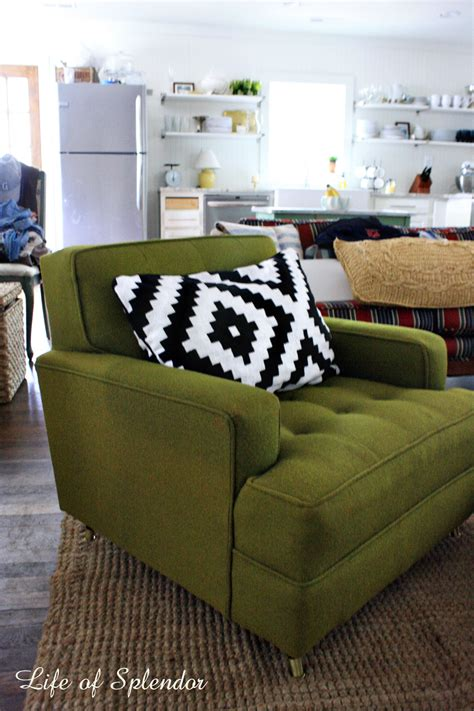 Green Living Room Chair The Green Chair Found A Home Thewhitebuffalostylingco