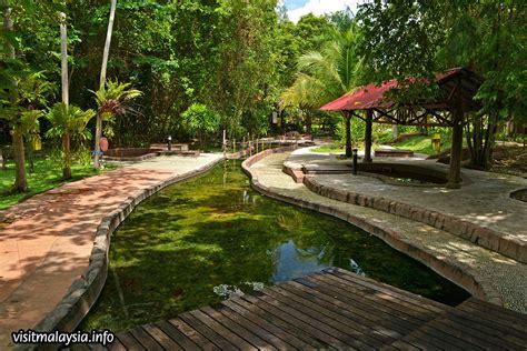 sungai klah hot springs sungkai