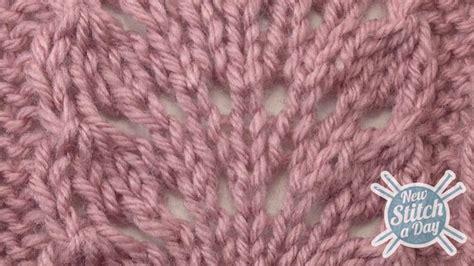 yo knitting stitch the ostrich plume stitch knitting stitch 83