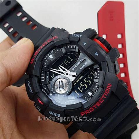 Special Jam Tangan Pria Cowok Murah Quiksilver Oscar Rubber Black Te harga sarap jam tangan g shock ori bm ga 400hr 1a black