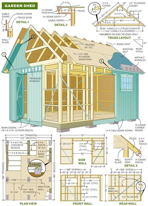 Free Barn Plans by 73 Best Shed Ideas Images On Sheds Gardening