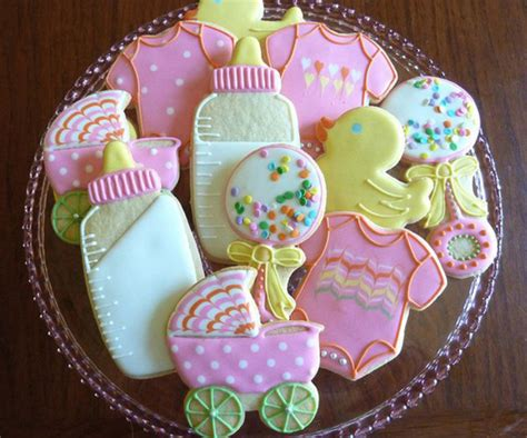 Cookie Baby Shower Decorations by Baby Shower Cookies Photo