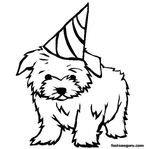 havanese dog coloring page dog coloring pages for kids homepage 187 animal 187 kids