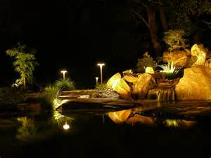 Pond Lighting by Schedule Your Pond Clean Out In Montgomery County