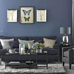Grey And Blue Living Room Ideas by Denim Blue And Grey Living Room Living Room Decorating