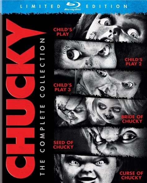 film blu ray qualità curse of chucky and chucky the complete collection blu