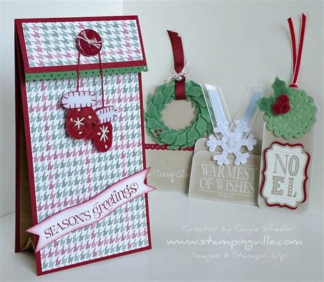 Paper L Ideas - stingville fuzzy wuzzy was a gift bag