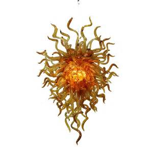 Blown Glass Chandeliers Buy The Anemone 153 Blown Glass Chandelier