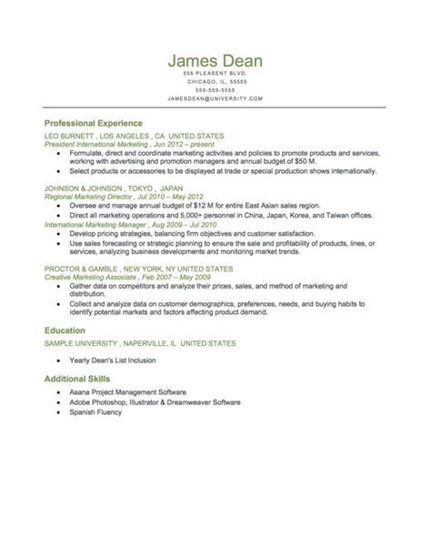 5 reverse chronological resume doctors signature