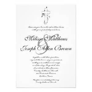 religious wedding invitations 261 best christian wedding invitations images on