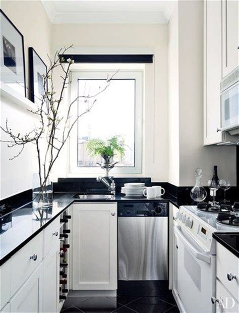 small black and white kitchen ideas 17 best ideas about white galley kitchens on pinterest