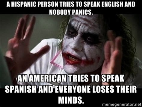 Meme In English - image gallery hispanic people memes