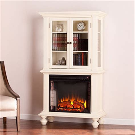electric fireplace curio cabinet sam s club