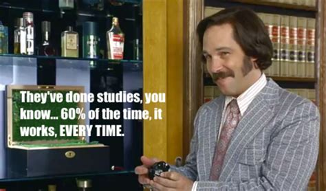 Sex Panther Meme - five classy social media lessons from anchorman 2 s ron