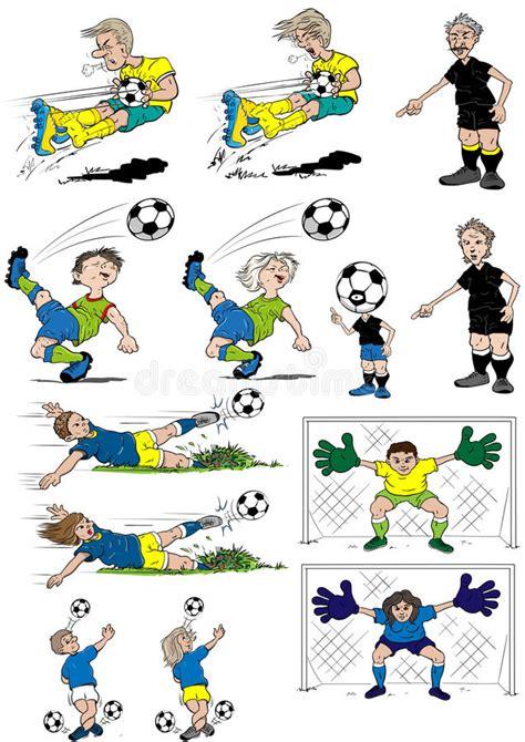 clipart calcio fumetti di calcio illustrazione di stock illustrazione di