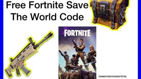 fortnite save the world code free fortnite save the world pve code part 2