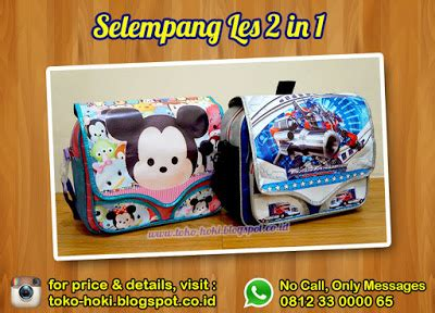 Tag Koper Tsum Tsum Luggage Tag Gantungan Nama Sa213 souvenir ulang tahun anak murah selempang les